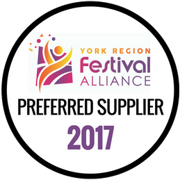 York Region Festival Alliance Preferred Supplier 2017