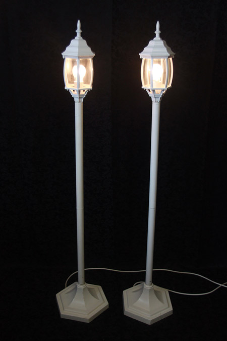 Layered Top Lamp Post<br>5 ft. 1 in.