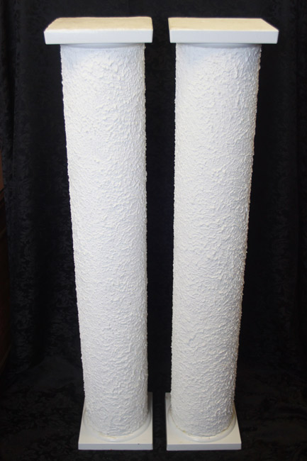 Stucco Pillars<br>4 ft. 4 in. x 10 in.
