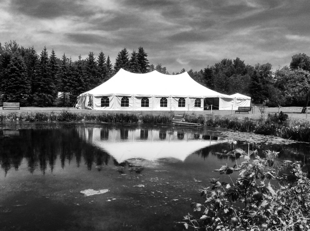 Water side tent