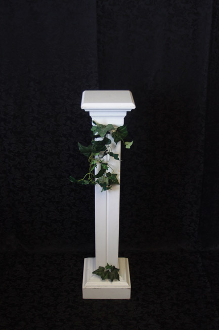 Wood Ivy Pillars<br>3 ft. 4 in.